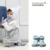 【Kinderspel】套腳腳襪型學步鞋-13CM(星星天空藍)