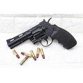 KWC 4吋 左輪 手槍 CO2槍 + CO2小鋼瓶 + 奶瓶 ( 轉輪短槍城市獵人牛仔巨蟒PYTHON M357左輪槍