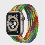 Braided SoloสำหรับAppleนาฬิกาSe Band 44มม.IWatch Series 6 5 4 3 38มม.42มม.เข็มขัดสร้อยข้อมือสำหรับApplewatchสายคล้อง40มม.