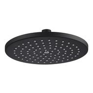 ตัวยึดที่ทำจากเหล็กกล้าไร้สนิมหัวฝักบัว Matt สีดำความดันฝักบัวอาบน้ำหัวฝักบัวสำหรับห้องน้ำ8นิ้วเหนือศีรษะ