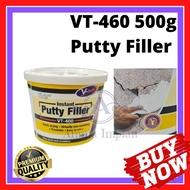 Vt-460 Instant Putty Filler 500g (White) / Wall Filler White