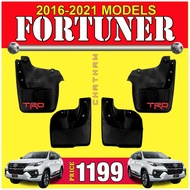 Auto parts ♙TRD Mudguard for Fortuner 2016 - 2021 ( Toyota 2017 2018 2019 2020 )☚