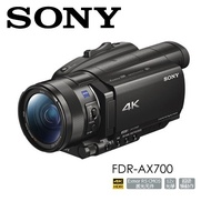 贈原廠電池 SONY FDR-AX700 4K HDR專業攝影機 公司貨