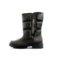 (男)【ESKT】簡易冰爪高筒雪靴-咖啡 SN216-CF