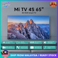 """[Global Version] Xiaomi Mi LED Smart TV 4s 65"""" 4K Ultra HDR Dolby Audio+DTS Dual Decoding Android TV With Google Assistant Global Version"""