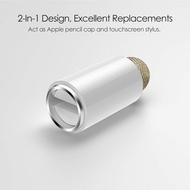 Apple Pencil magnetic Cap 2 in 1 - Stylus Pen Rubber - ปากกา คุณภาพใกล้เคียงของแท้ สำหรับท่านตัวฝาหล่นหายไป คร้าบบ