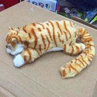 Redcolourful 30 เซนติเมตรตลกจำลองไฟฟ้า Cat TOUCH ที่ทำมวนบุหรี่ตุ๊กตาสัตว์แมวของเล่นเด็กวันเกิดของขวัญความสูง: 30 เซนติเมตร
