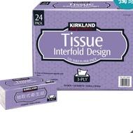 🎀好市多代購🎀 Kirkland Signature 科克蘭 三層抽取衛生紙 120張 X 24入