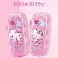 【HELLO KITTY】立體圖案多隔層筆袋 共6款(文具筆袋)