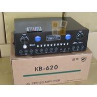 【音響倉庫】臺灣製造JCT家庭歌唱120W卡啦OK綜合擴大機USB/SD/藍牙/電台KB-620
