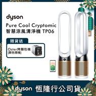 【送Oster烤麵包機】Dyson戴森 Pure Cool Cryptomic TP06 二合一涼風扇空氣清淨機(白金色)