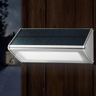 太陽能燈戶外庭院燈感應壁燈家用超亮LED室外圍墻新農村防水路燈xw