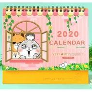 【現貨,12H出貨】好想兔系列 CDN-406 32K 2020 三角桌曆 售完為止