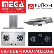 Fujioh Hood+Hob Package / 2-3 Burners / 80-90cm / PWP Built In Oven from $435 / Free Installation