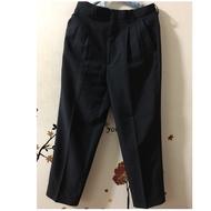 IN EXTENSO 品牌直條紋西裝褲