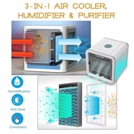 2018 NEW IMPROVED DIGITAL/ Arctic Air Cooler Portable Air Cooler Humidifier Purifier w/7Light