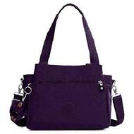 KIPLING 三層側肩/斜肩包-深紫 (現貨+預購)深紫
