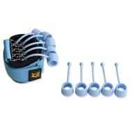 อุปกรณ์ช่วยยึดเกาะนิ้วที่ฝึกความแข็งแรงมือยางยืดออกกำลังกายสำหรับโยคะ Finger Flexion และ Extension อุปกรณ์การฝึกอบรมนิ้วมือที่บีบมืออุปกรณ์