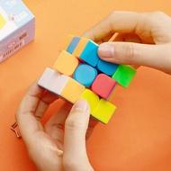 魔方 得力魔方初學者套裝全套三階四階益智玩具魔尺金字塔專業比賽專用