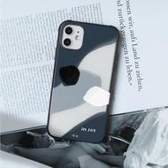 iPhone 11/11max/SE2/12/12mini藍色啤酒海輕巧耐撞擊邊框手機殼