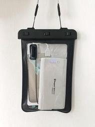 手機防水袋 外賣專用手機防水袋潛水套觸屏可充電插耳機小米max2華為通用防雨 傾城小鋪 聖誕節禮物