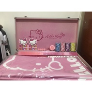 Hello kitty 鐵盒麻將組
