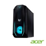 Acer PO3-620 十代i7八核雙碟獨顯電競桌上型電腦(i7-10700/RTX3060Ti/16G*2/512G/1T)