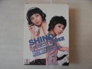 林曉培 - SHINO 1ST BEST 首張精選 精裝超值典藏版2CD+DVD 絕版品