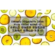 【樓上鮮烘單品】 衣索比亞 耶加雪菲 耶加雪菲鎮 艾迪朵村 迷霧山谷 水洗 G1  手沖 咖啡豆