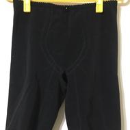黛莉貝爾黑色涼感五分束褲M