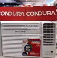 Brand  new condura window type inverter aircon