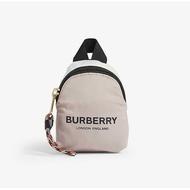 當日寄出[現貨]英國代購 英國BURBERRY  迷你後背包造型吊飾 零錢包 粉紅色