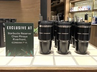 Starbucks x Stanley l แก้วสตาร์บัคส์ 20 ออนซ์ (ของแท้ 100%) limited จาก iconsiam สีดำ