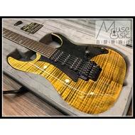 【苗聲樂器Ibanez旗艦店】Ibanez Premium RG950FMZ 印尼廠2018新款金色虎紋大搖電吉他