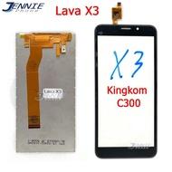 หน้าจอ LAVA X3 ทัชสกรีน+จอใน+จอชุด ais- LAVA X3