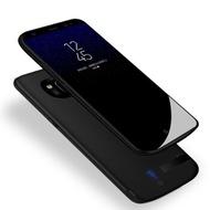 三星note8背夹电池note9S8无线充电宝S9手机壳式冲电器plus便携 note9 宝石蓝(大容量) note8 珍珠白(大容量)