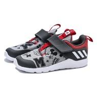 【adidas 愛迪達】RAPIDAFIEX MICKEY 灰黑紅 米奇 運動鞋 小童(EF9730)