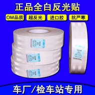Car Reflective Stickers Truck Car White Reflective Stickers Vehicle Warning Sticker