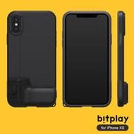 bitplay SNAP! iPhone XS(5.8吋)專用 全包覆防摔相機殼▲質感黑 (搭配SNAP! Grip藍牙快門把手)