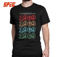 1969 50Th Birthday Gift Men T Shirt 50 Years Old Amazing Short Sleeve Tees T-Shirts Tops