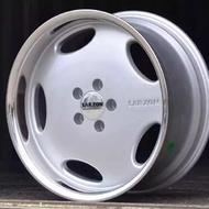 全新AMG 大餅框 大餅鋁圈 w124 190E 霸吿 w126 w210 w123 大牛