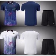 新款Yonex羽球衣勝利羽球衣優乃克羽球衣 羽球拍YY羽毛球服尤尼克斯羽球衣運動套裝2006 運動