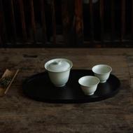 |德化 草木灰釉 古款 無托蓋碗 茶碗