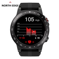 NORTH EDGE Cross-Fit2 Smart Watch For Men GPS Running Bluetooth Phone Call Heart Rate Blood Pressure Altimeter Barometer Compass Outdoor Sport Watch For Android IOS