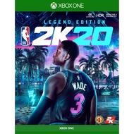 【首批附特典】【 Xbox One NBA 2K20 】下標加贈35000點 VC 兌換卡《 中文 傳奇版 》
