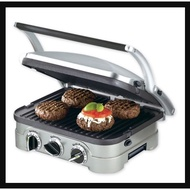 Cuisinart Griddler Countertop Grill Removable Plates Panini Electric Grill
