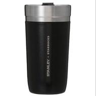 日本代購 日本 星巴克 Stanley x Starbucks 極光黑 寬口 保溫杯 保溫瓶  保冷 保溫 473ml
