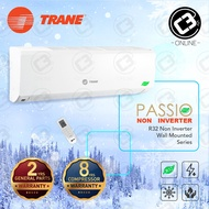 (Self Pick-Up) Trane 1.0HP,1.5HP,2.0HP,2.5HP Aircond (R32) Non-Inverter Air Conditioner Wall Mounted