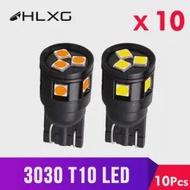 T10 W5W LED 3030 Clearance กลับไฟภายในรถ 12V แรงดันไฟฟ้า 24V แผงโคมไฟ electrodeless HLXG