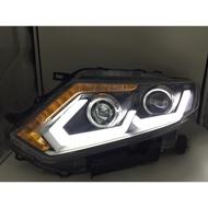 X-TRAIL 雙魚眼大燈總成 日行燈 LED